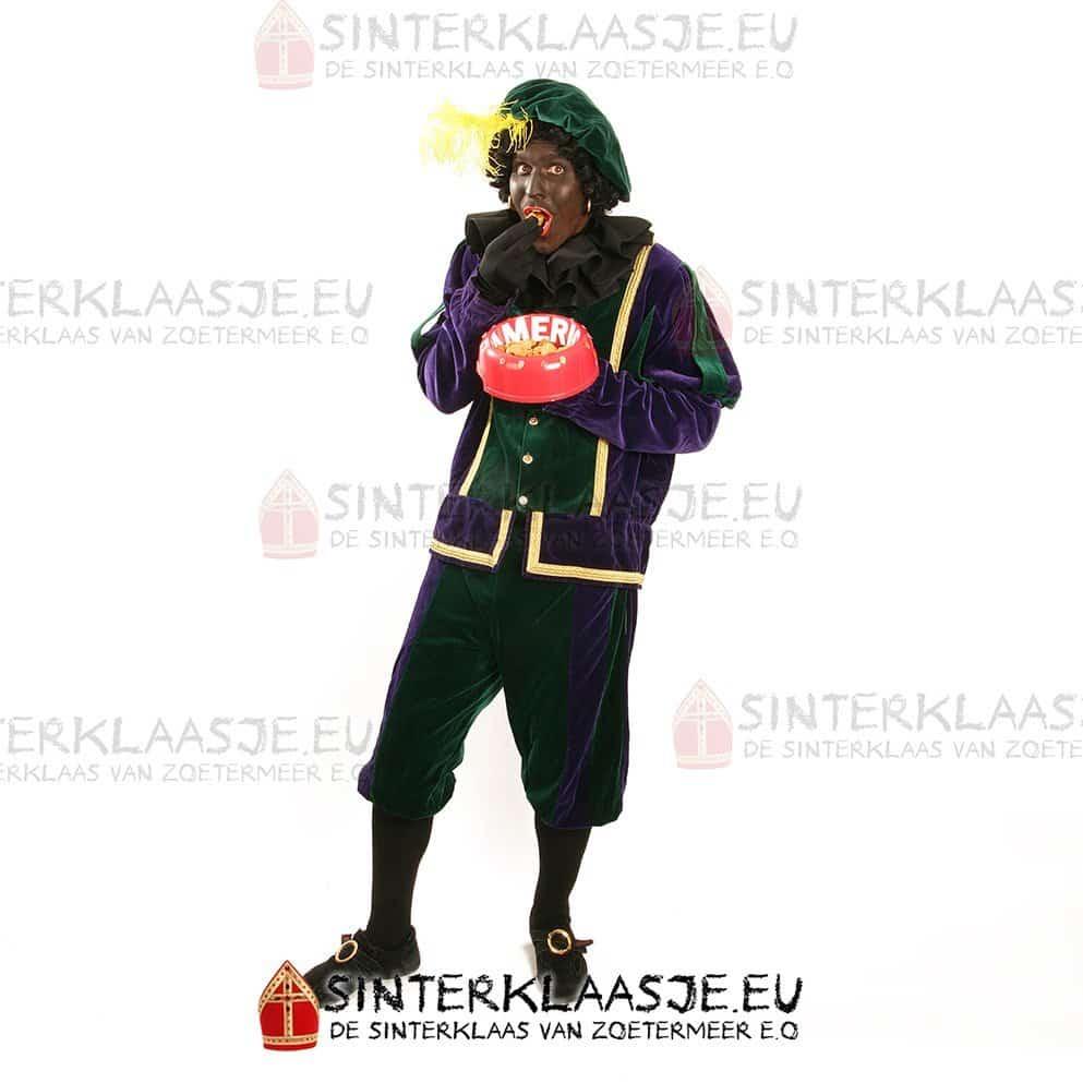 Zwarte Piet Fluweel Luxe 1